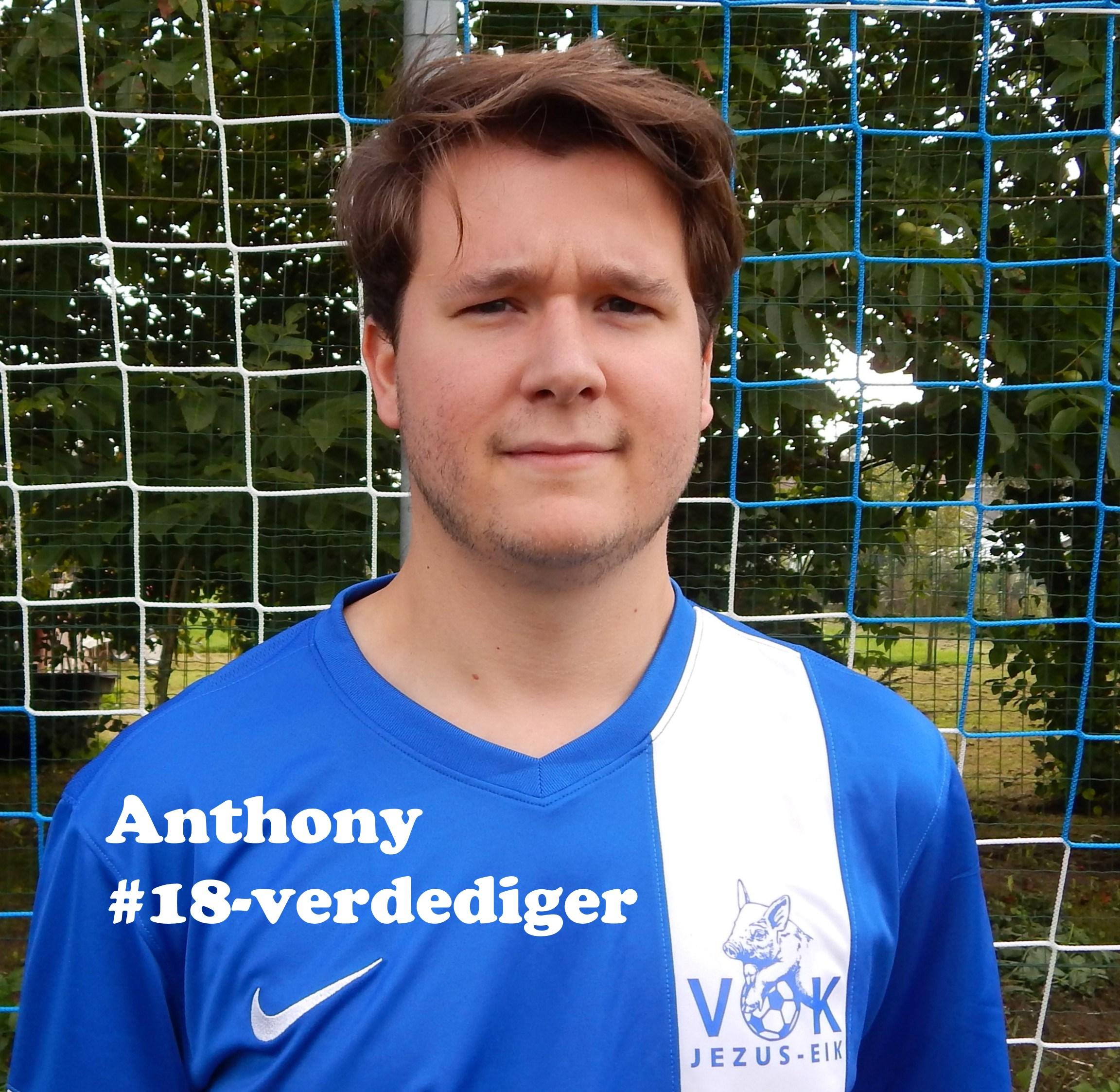 Anthony - Verdediger - 18