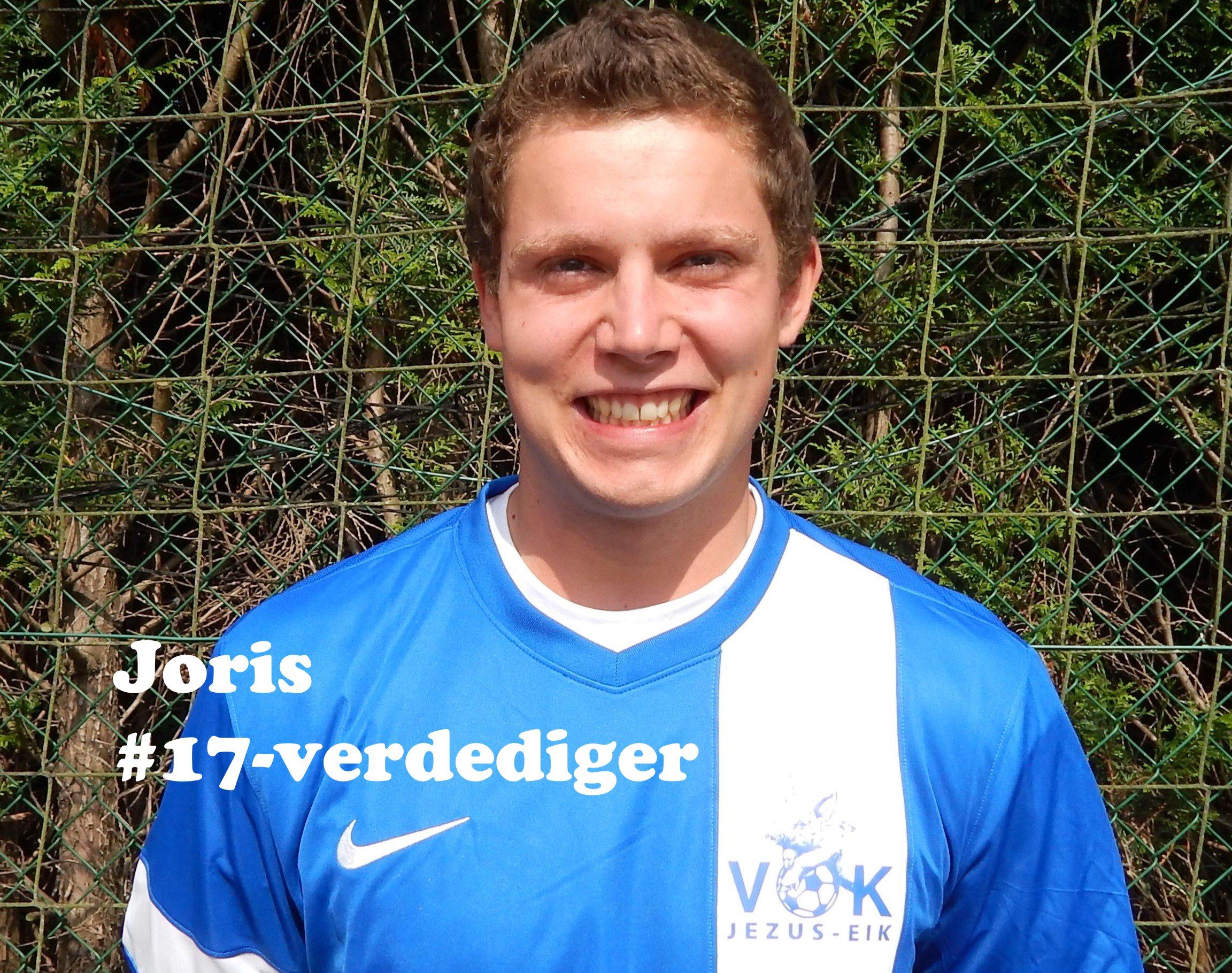 Joris - Verdediger - 17