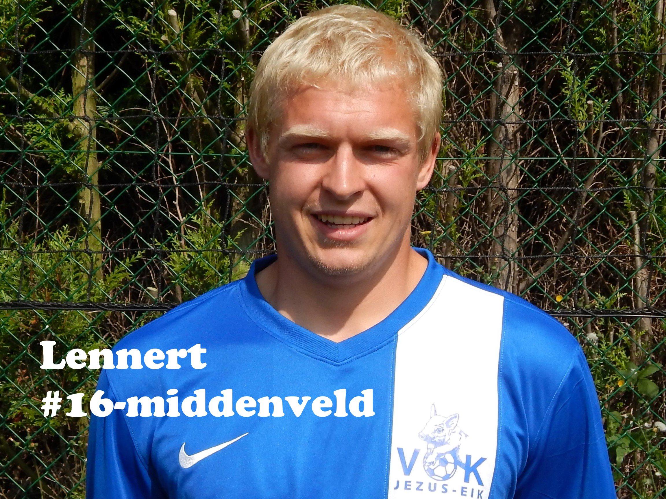Lennert - Middenvelder - 16
