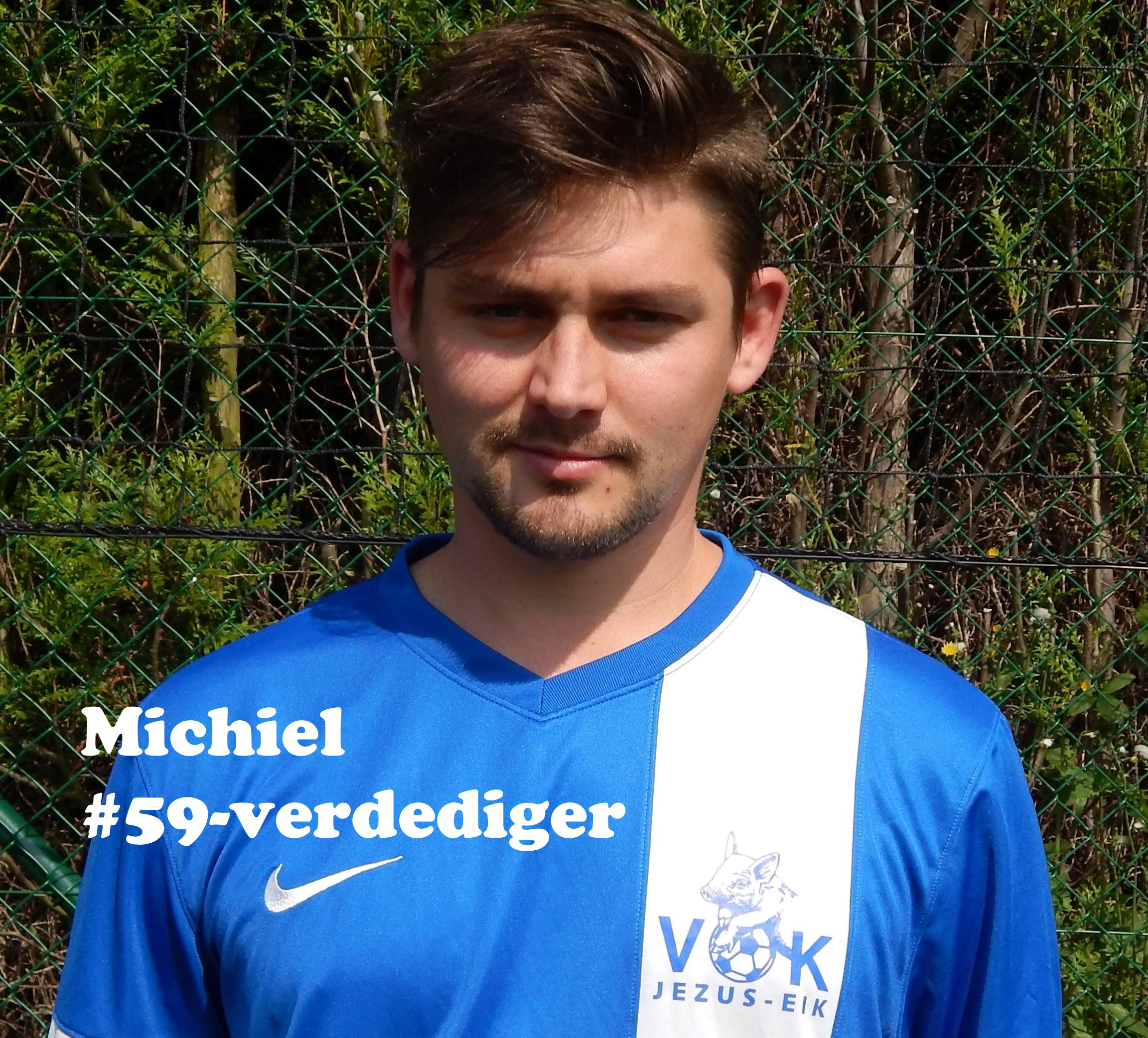 Michiel - Verdediger - 59