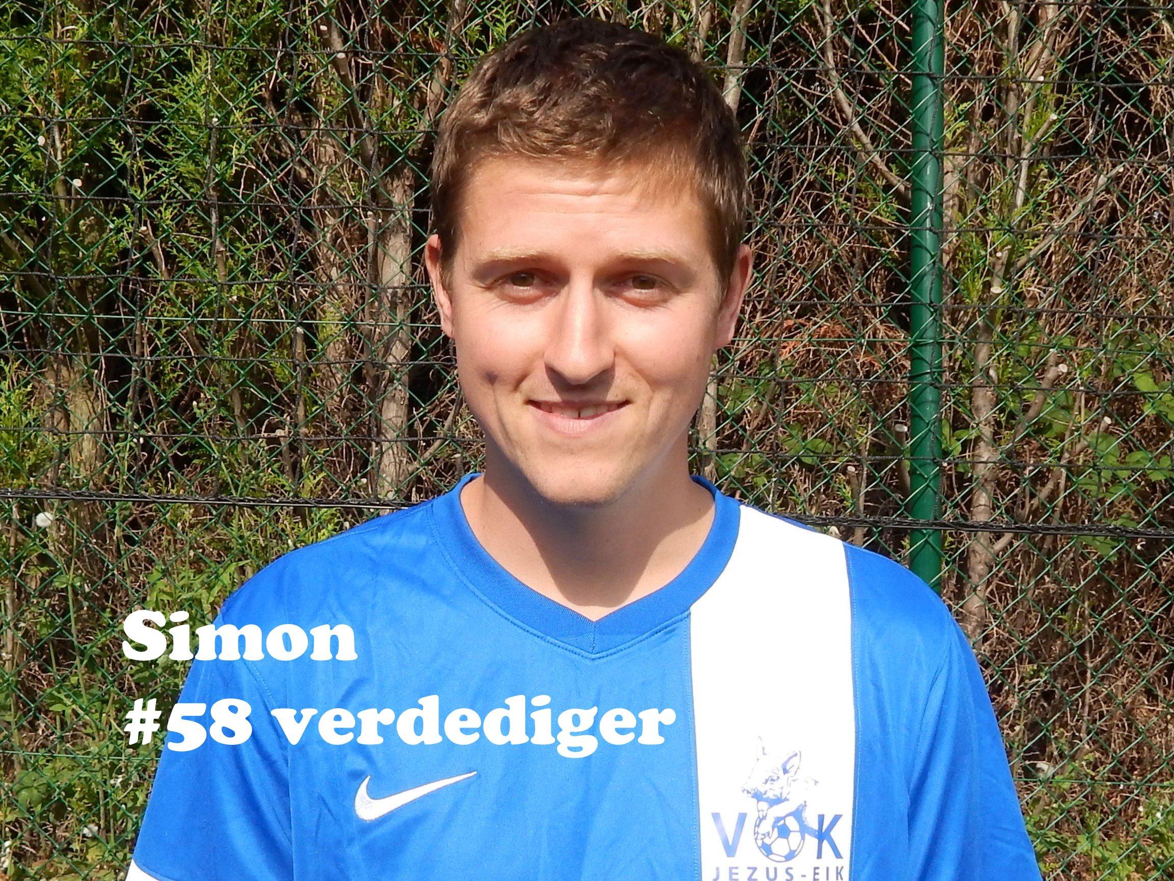 Simon - Verdediger - 58