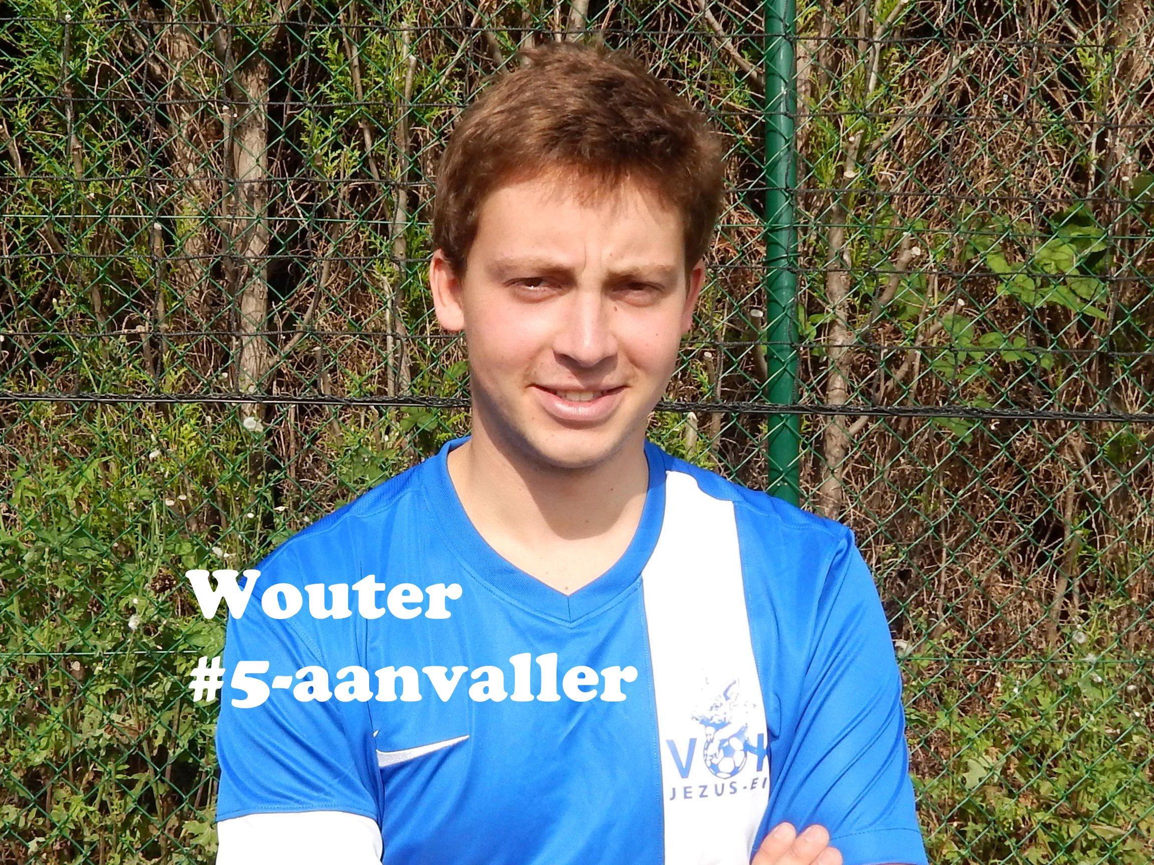 Wouter - Aanvaller - 5