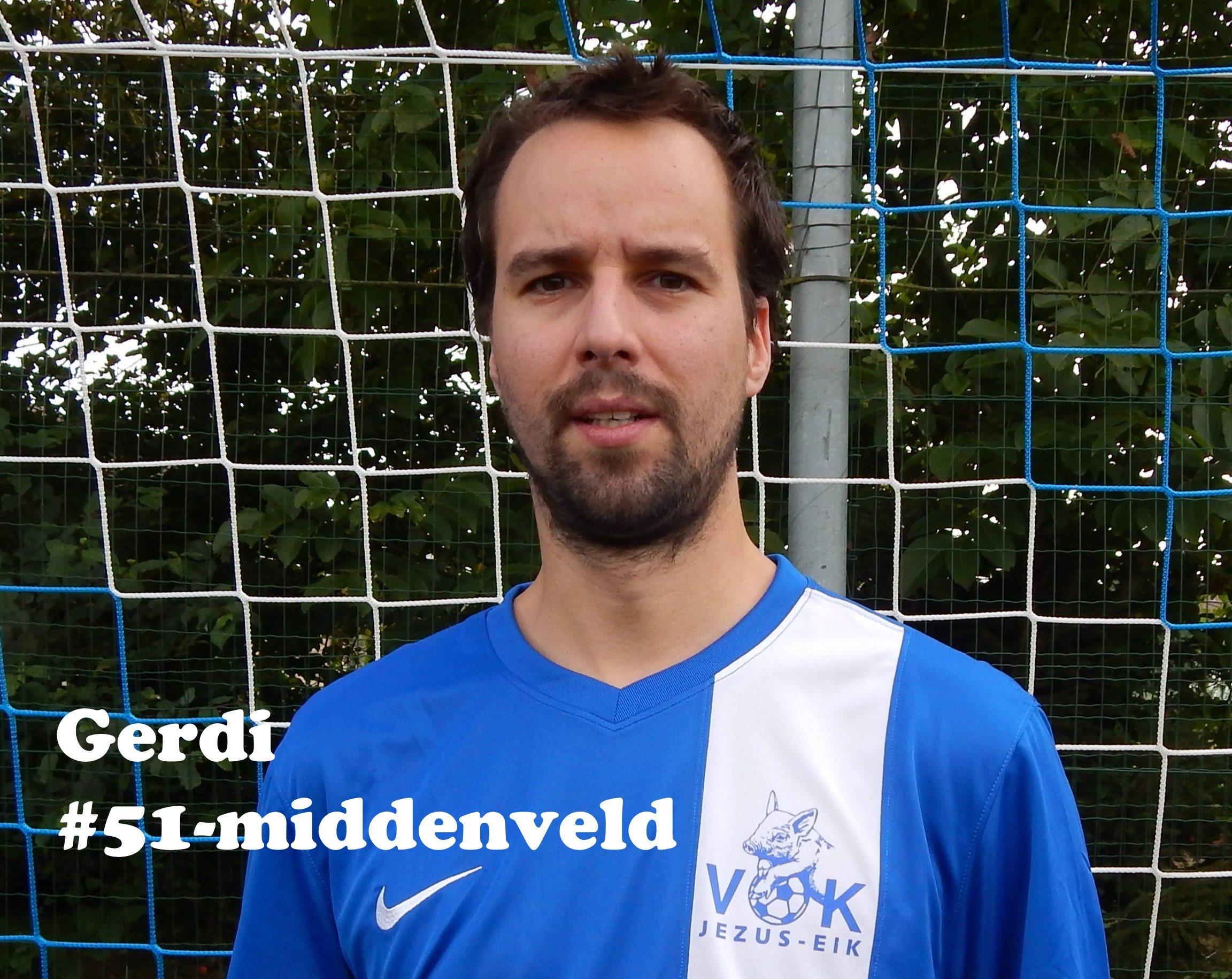 Gerdi - Middenvelder - 51