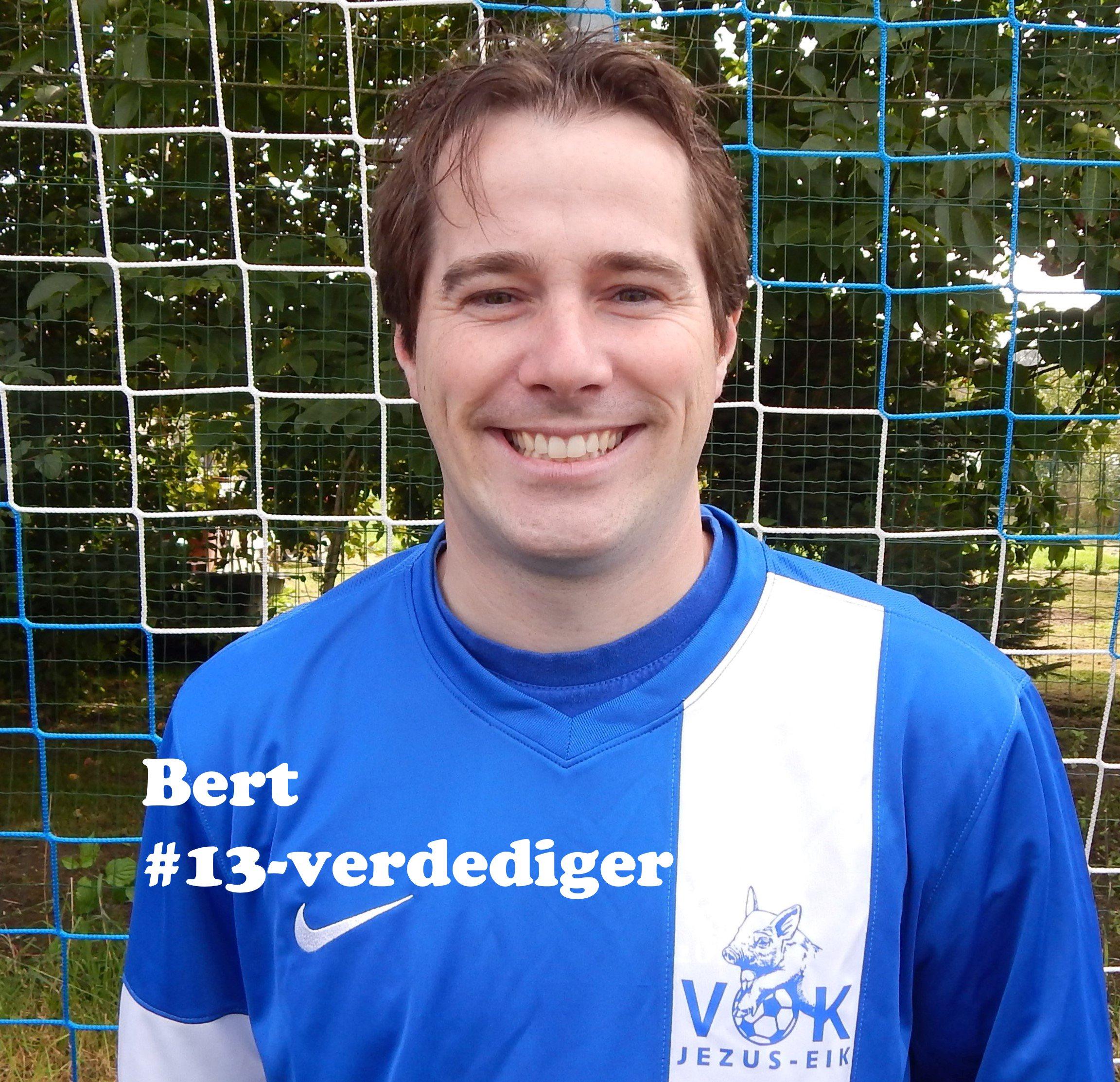 Bert - Verdediger - 13