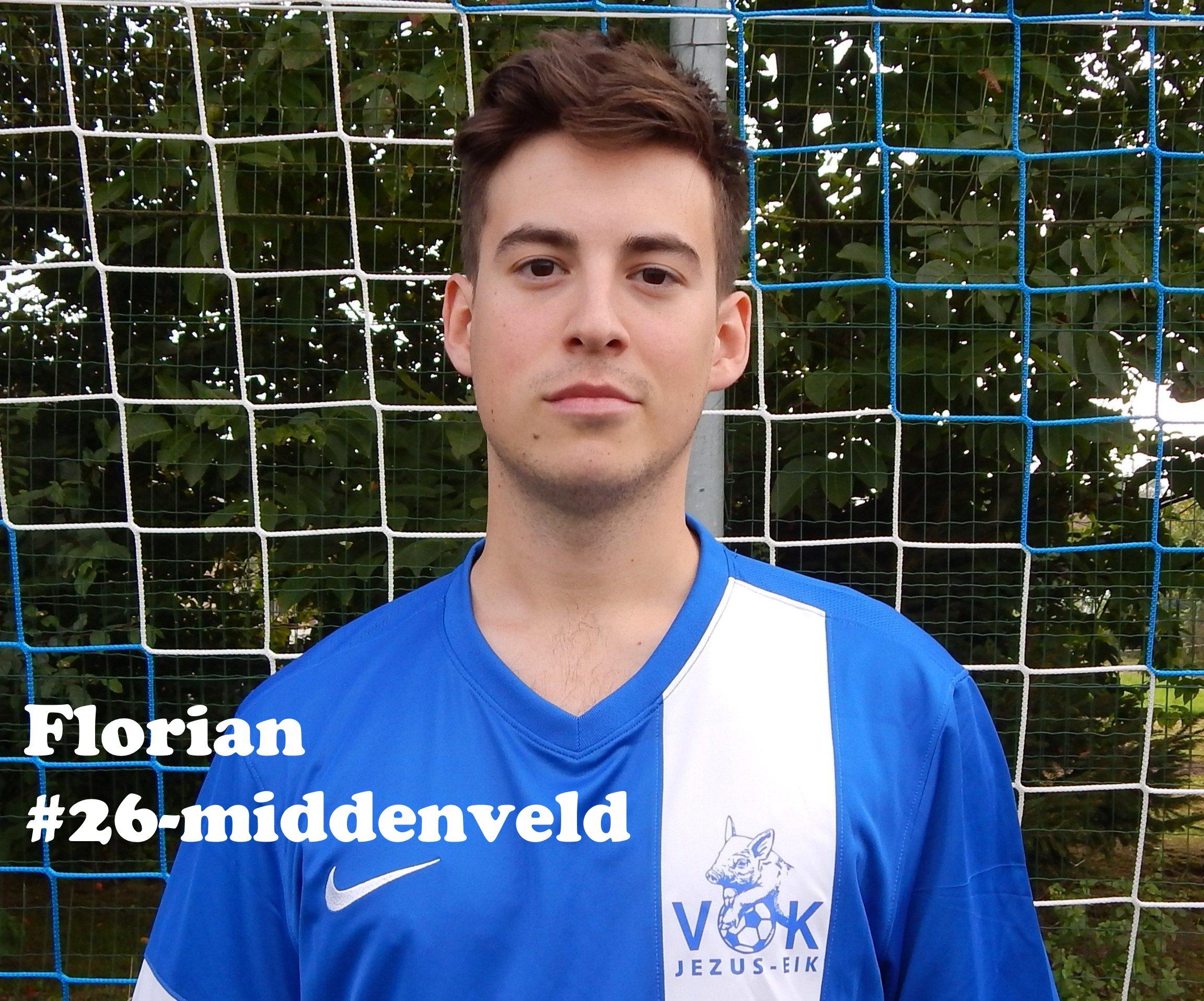 Florian - Middenvelder - 26