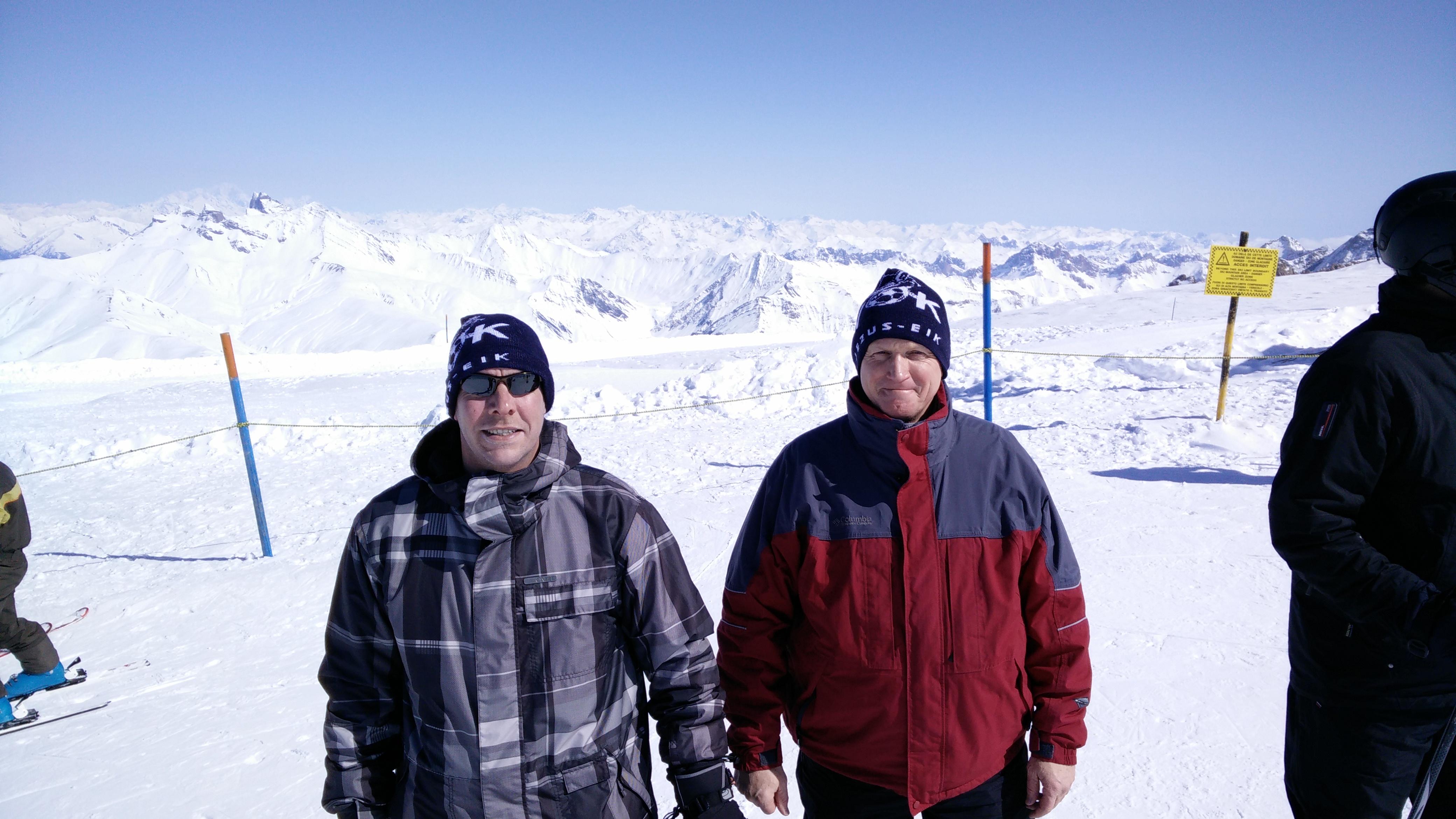 Steve en Dirk, Les Deux Alpes 2016