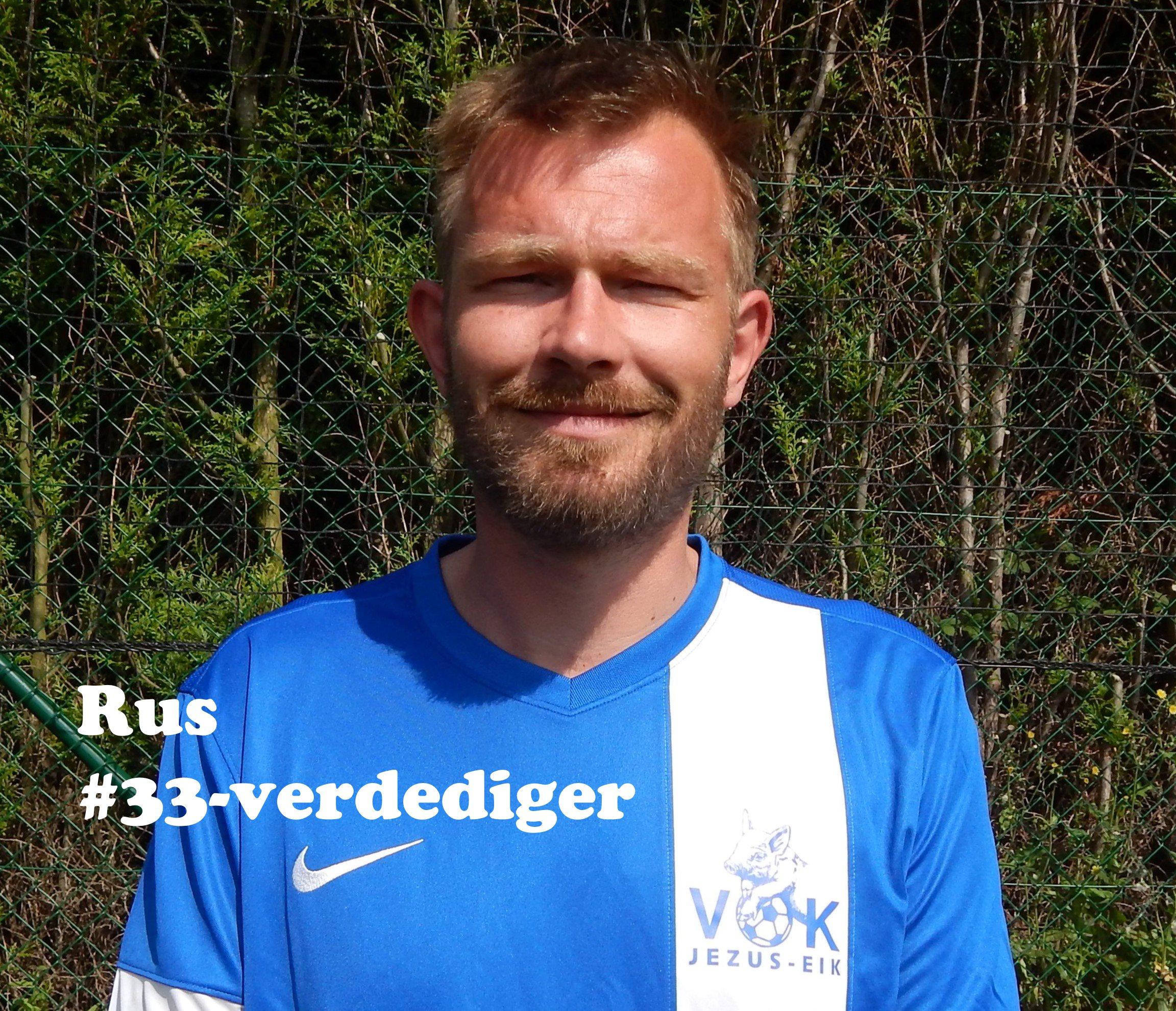 Rus - Verdediger - 33